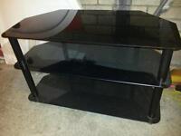 Glasss tv stand
