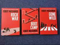 Robert Muchamore young adult book trilogy