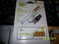 REDUCED!! EZI-CIG ELECTRONIC CIGARETTE BUNDLE OF 14 HIGH AND MEDIUM NICOTINE
