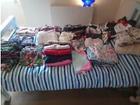 Bundle of girl's clothes 12-18 months