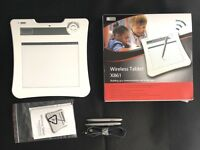 Wireless graphics Tablet Model.:X861 Waltop (boxed extra pen!)