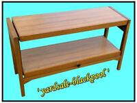 Table ~ Coffee ~ Console ~ Hall ~ Multi Use. . . Vintage ~ Rare ~ Unusual Style Table ~ Dual Use