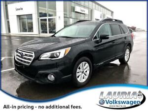 2016 Subaru Outback 3.6R AWD Touring Package - 1 owner