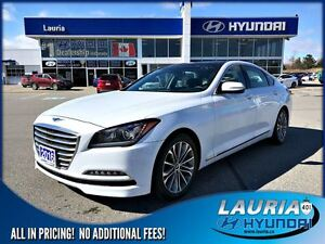 2016 Hyundai Genesis 3.8L AWD Premium - 1 owner / Leather / Navi