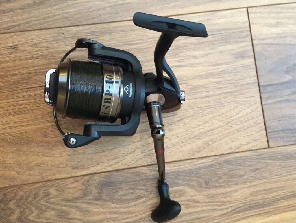 Nash h gun bp10 fast drag bit pit carp fishing reel in for Carp fishing reels
