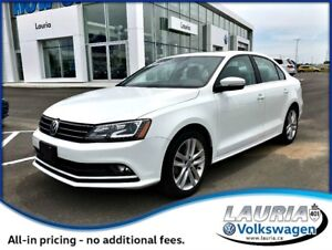 2016 Volkswagen Jetta 1.8 TSI Highline - 1 owner / LOADED!