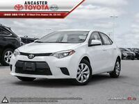 2014 Toyota Corolla LE- ONLY 27353 KMS!!