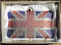 Small Union Jack Clutch Bag