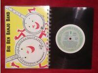 Banjo Band A5 Handmade Vinyl Notebook