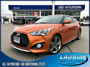 2014 Hyundai Veloster Turbo Manual - Navigation / Panoramic sunr