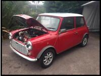 Rover Mini Racing Flame Project