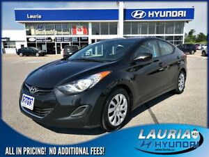 2013 Hyundai Elantra GL Auto - Heated seats / Bluetooth