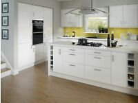 7 Piece Kitchen Units - White Gloss - BRAND NEW