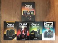 4 Digital Photography Books by Scott Kelby Photo Camera Canon Nikon