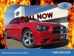 2013 Dodge Charger SXT, Moonroof, Nav, Leather!