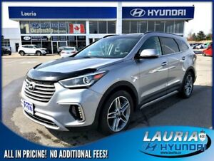 2017 Hyundai Santa Fe XL Limited AWD - 7 passenger - Loaded