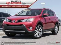 2013 Toyota RAV4 Limited ONLY 29962 KMS!!