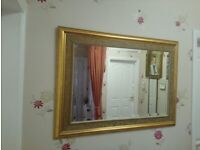 Large Wall Mirror with Beautiful Detail