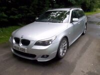 *WILLOW MOTORS BMW 535D 3.0 TD AUTO M SPORT TOURING ESTATE*SAT NAV LEATHER*