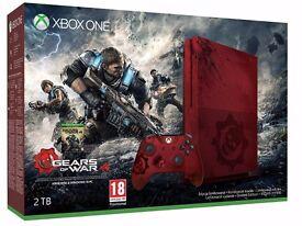 Xbox One S 2TB Gears of War 4 Limited Edition Bundle (BNIB)