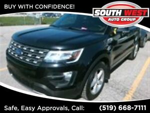 2016 Ford Explorer XLT, PANO ROOF, AWD