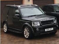Land Rover, DISCOVERY 4 Landmark, Auto, 4x4, 2016, Black, 7 seats, rear entertainment.