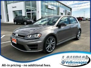 2017 Volkswagen Golf R 2.0 TSI 4Motion