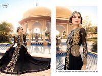 Glossy Wedding Wear Designer Anarkali Suit