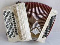 Brandoni Super Musette 5 Row Chromatic Accordion