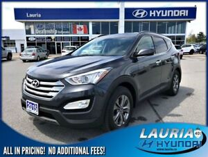 2015 Hyundai Santa Fe Sport 2.0T AWD Premium - Push button start