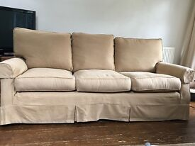 Lovely large 3 seater Sofa and armchair for sale