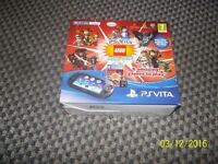 psvita for sale with games included boxed lego edition £90 0n0