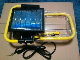 Portable halogen lamp light