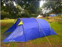 Eurohike 350 lombok 3-4 person tent