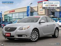 2011 Buick Regal CXL, ONE OWNER VEHICLE, NO ACCIDENTS, NO INTERE