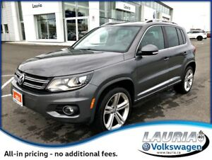 2014 Volkswagen Tiguan 2.0T Highline 4Motion AWD