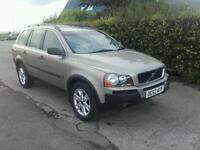 Volvo XC90 2.4d AWD Automatic 7 Seater SERVICE HISTORY 145400 miles