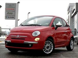 FIAT 500 LOUNGE CONVERTIBLE 2012