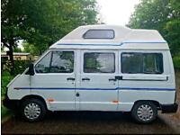 Renault Traffic campervan 4 berth