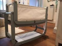 Brand new snuz pod 2 , 3 in 1 baby cot,Mamma and papas,Moses basket,baby crib,baby changing,mattress