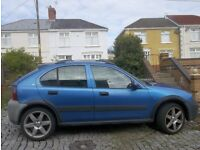 Rover Streetwise for Sale: SPARES or REPAIRS