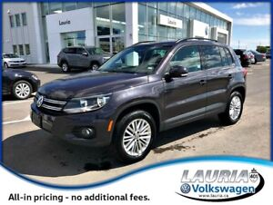 2016 Volkswagen Tiguan 2.0T Special Edition 4Motion AWD
