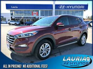 2016 Hyundai Tucson 2.0L AWD Premium - Heated seats / Bluetooth