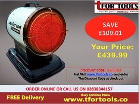 Jefferson Infrared Heater Thermostat Direct Air Inferno iR70 70, 000 BTU 20.5KW