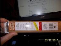 REDUCED!! NEW DOOR THRESHOLD/TRIM/PLATE/BAR T SECTION 40MM X 90CMS WORN OAK
