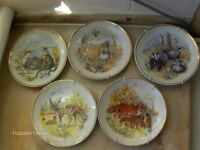 Collectible Vintage Wall Plates Wildlife of Britain by Susan Beresford
