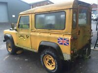 Old Land Rover Defenders Wanted!
