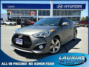 2014 Hyundai Veloster Turbo Matte Color Pack - Very rare! - 1 ow