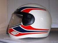 Vintage Classic 80s Helmet. , Vintage agv Helmet Made In Italy