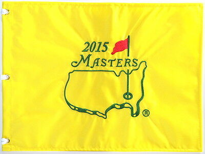 2015 MASTERS Official EMBROIDERED Golf Pin FLAG Sealed